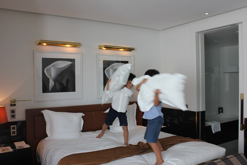 chambre luxe palace enfants