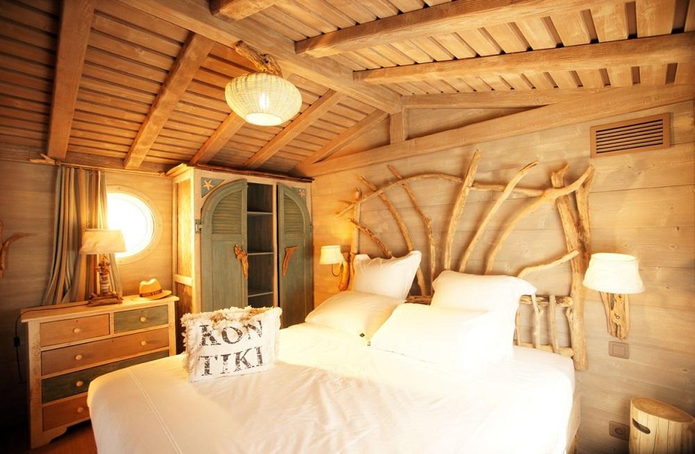 Tiki-Lounge-tentes de luxe famille