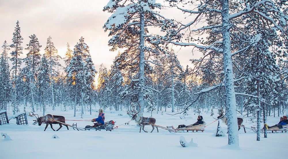 séjour insolite famille en finlande