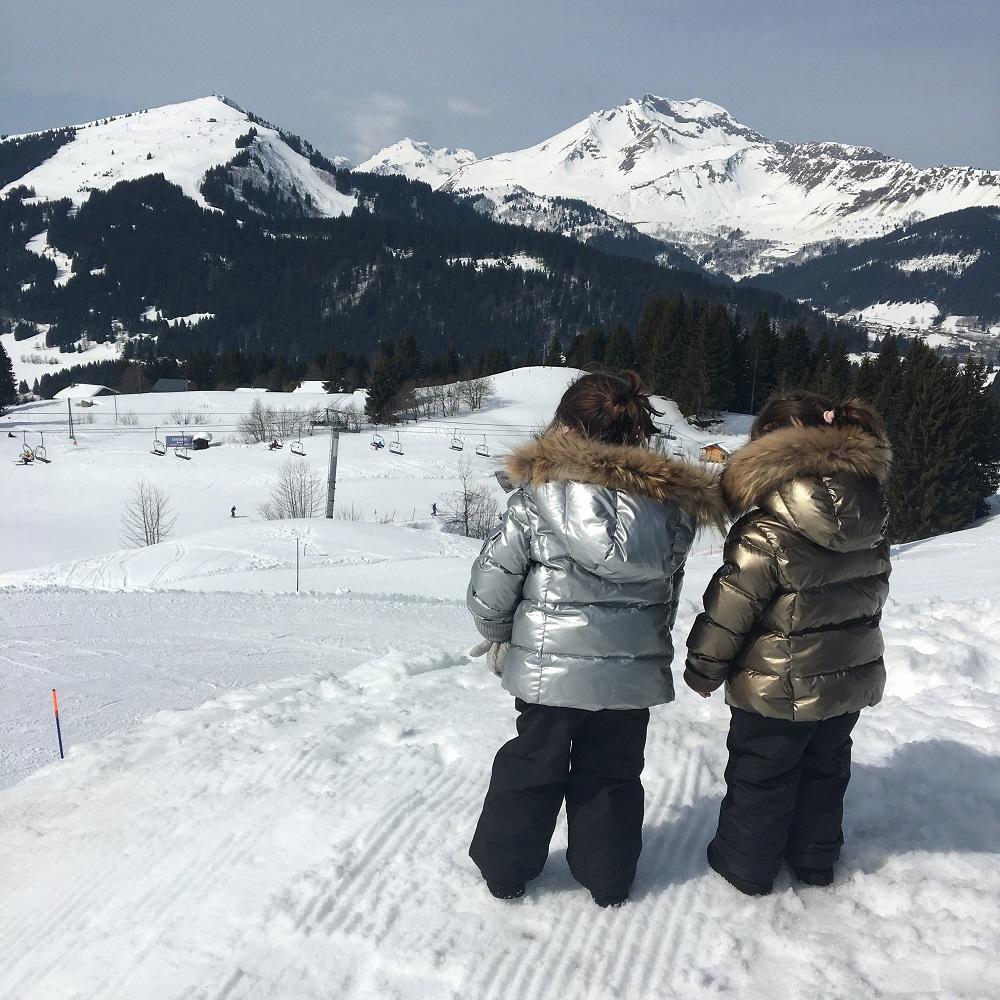 ski famille luxe