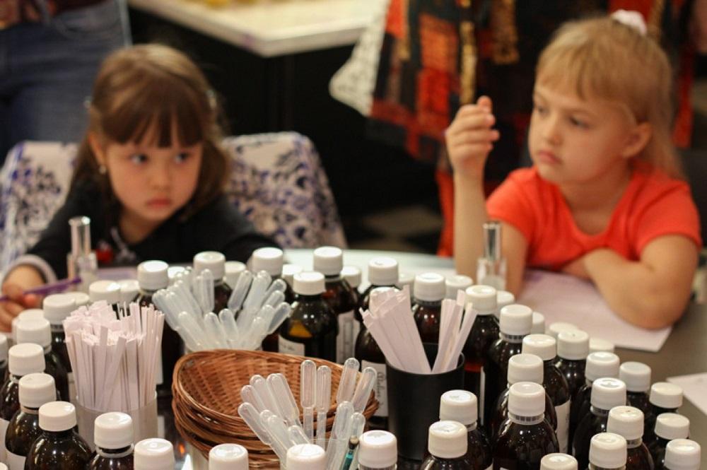 Atelier enfant parfum grasse