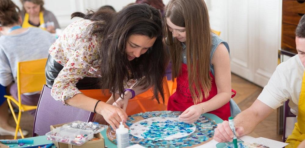 atelier enfant bijoux Van cleef