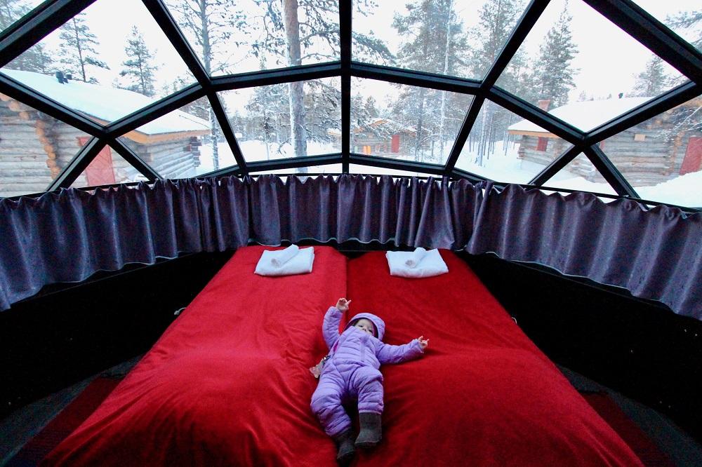 travel kids luxery lapland
