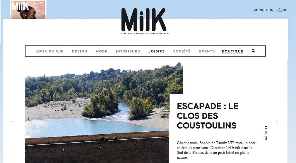 milkmagazine clos des coustoulins