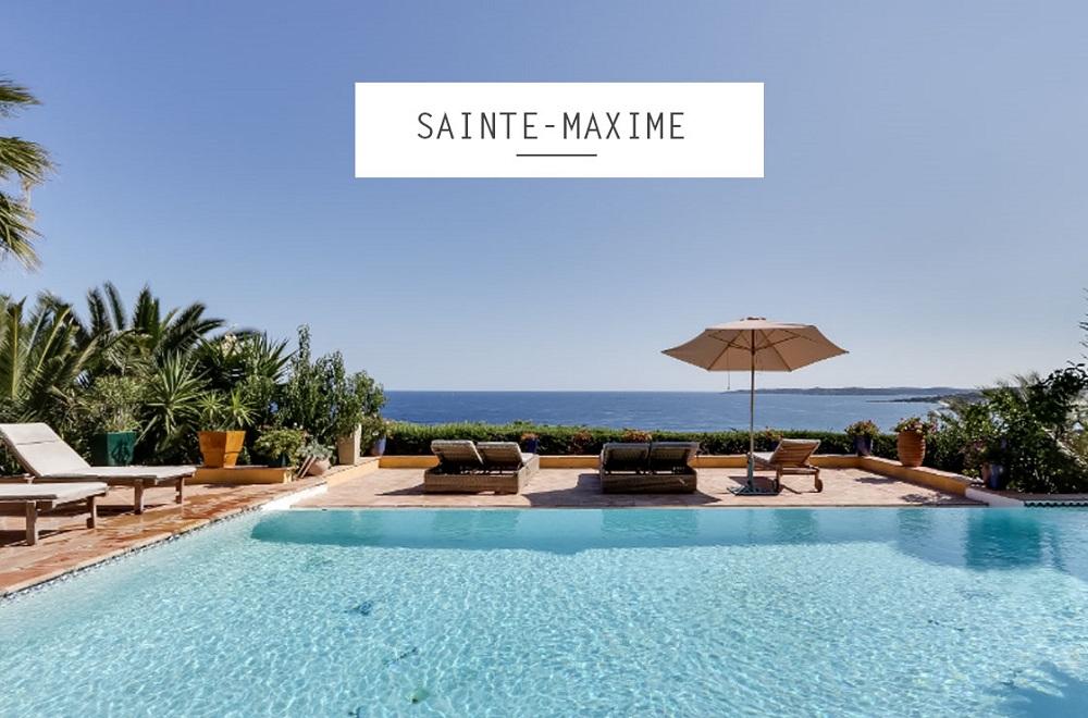 Location maison luxe Sainte_maxime