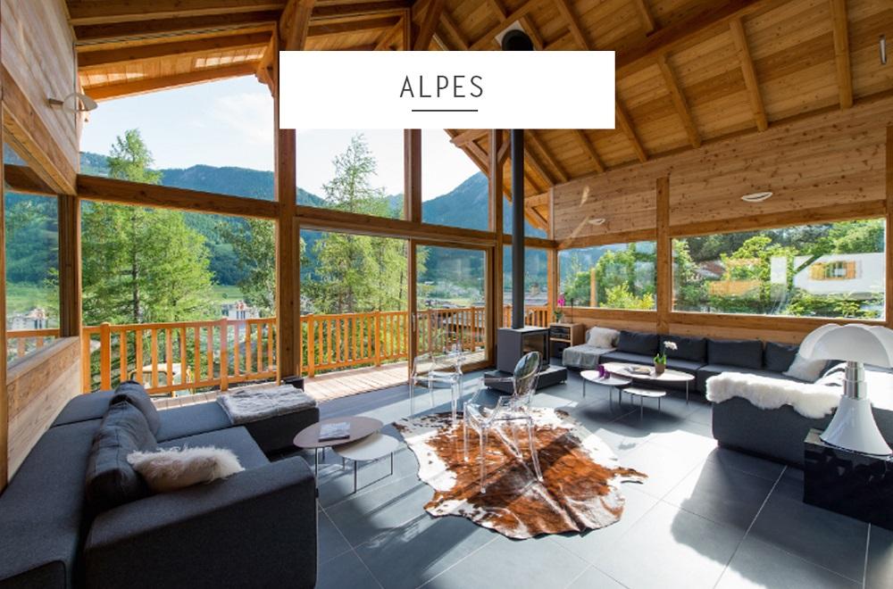 location maison luxe alpes