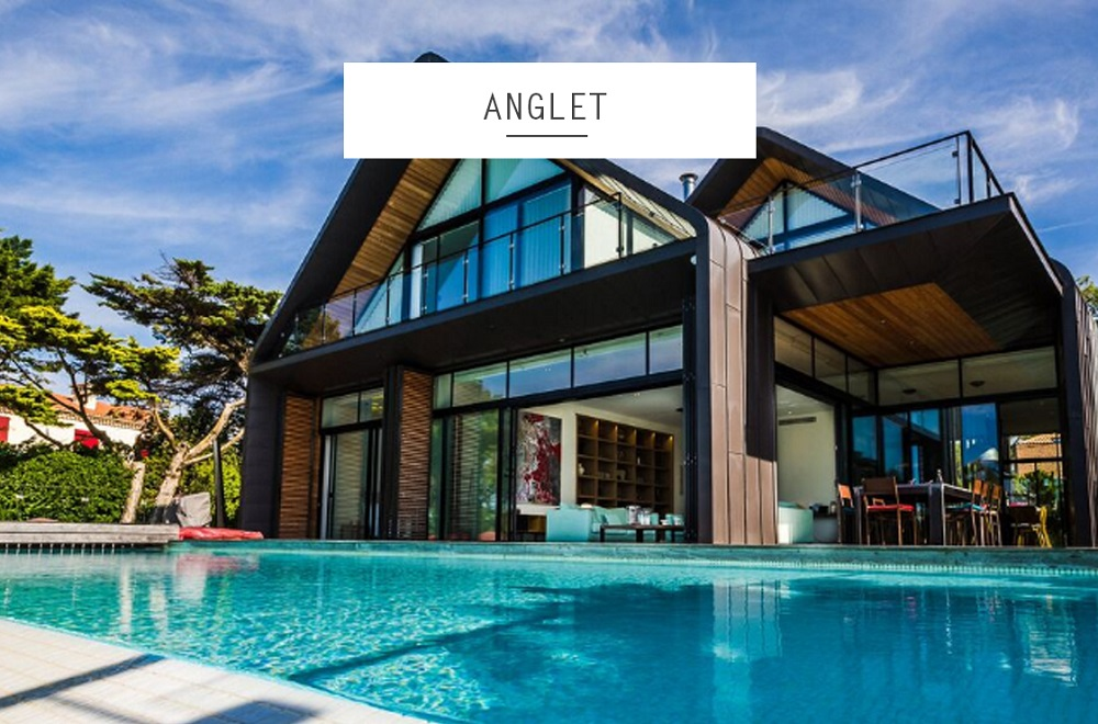 location maison luxe anglet