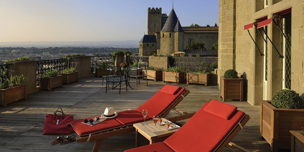 hotel de la cité carcassonne en famille