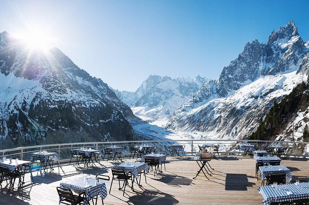 restaurant mer de glace famille montenvers