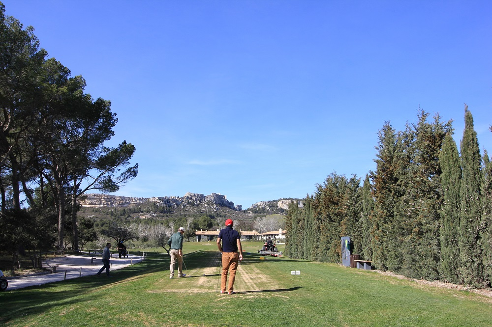 Golf 18 trous alpilles Manville