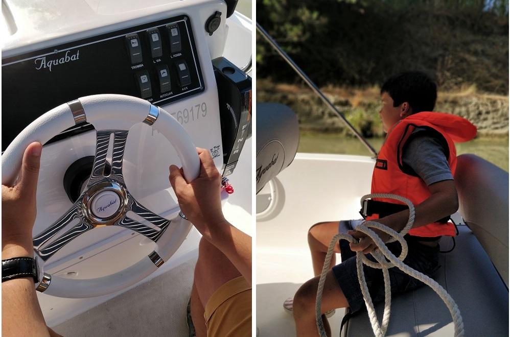 Sunboat bateau sans permis canal du midi