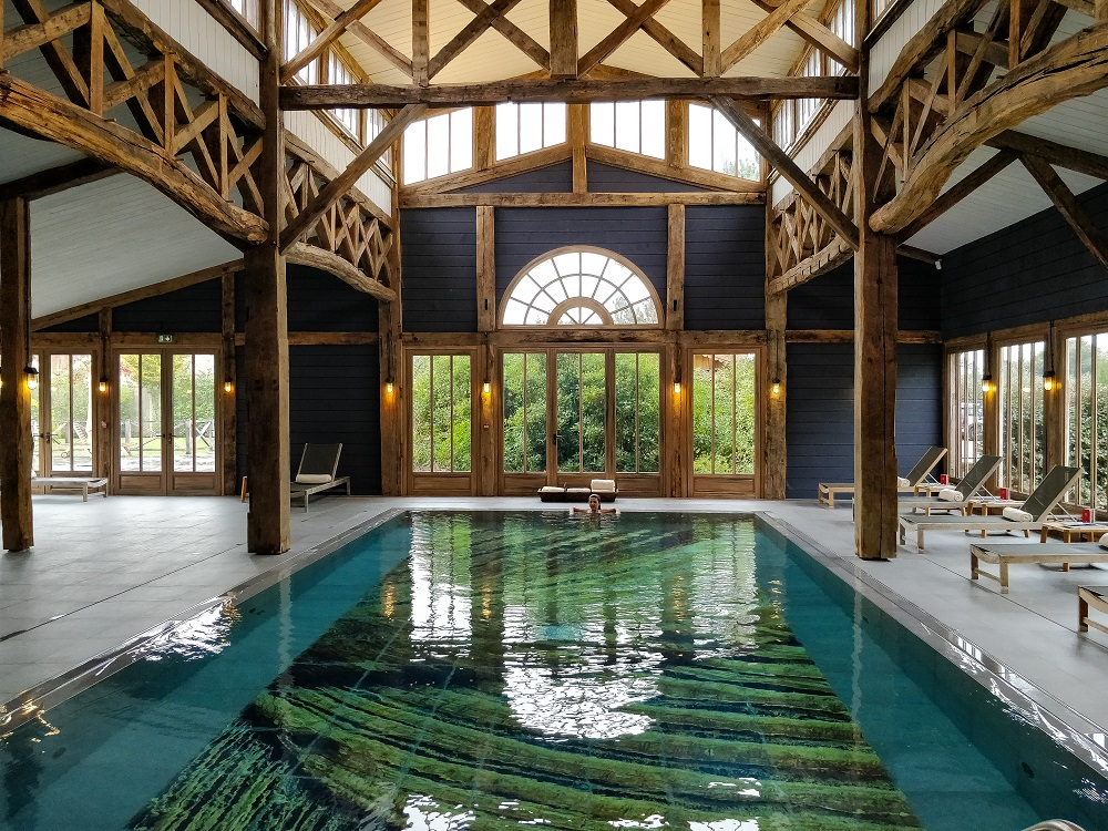 piscine intérieure sources de caudalie