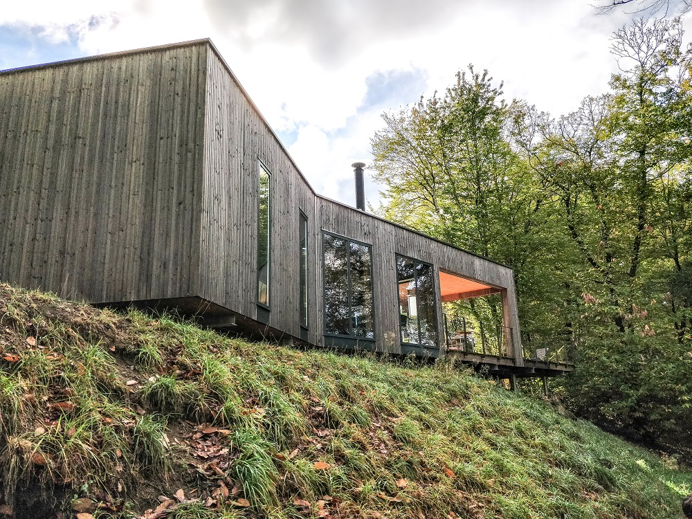 Cabane design luxe famille france