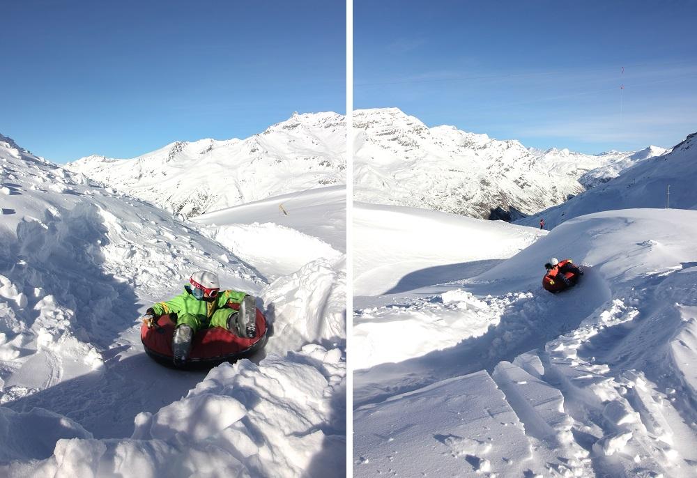 Luge Bouée Val cenis Haute Maurienne
