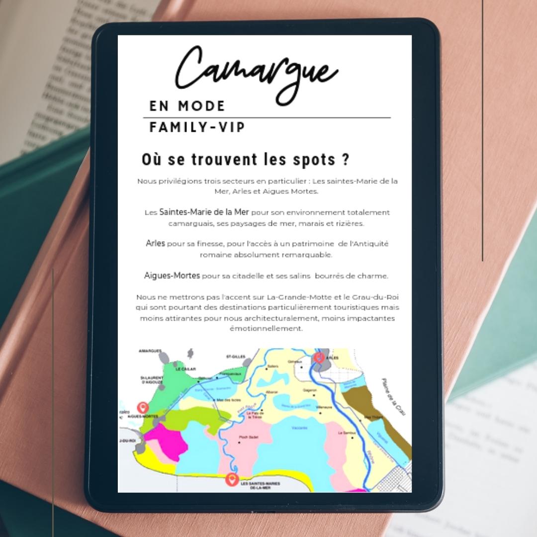 guide vacances camargue famille