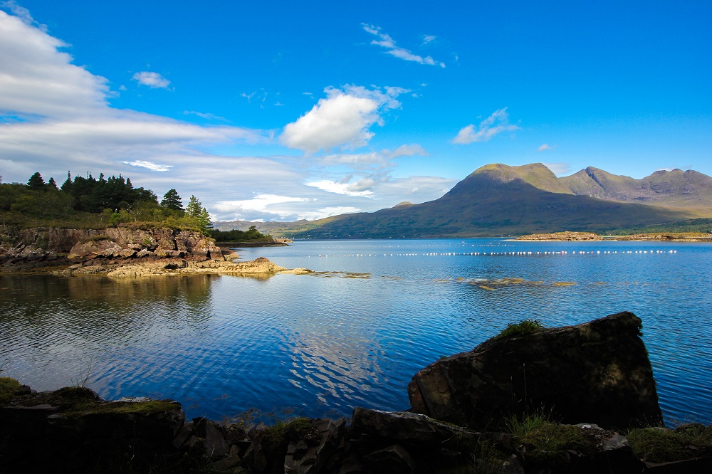 Ecosse chateau Highlands Torridon 10