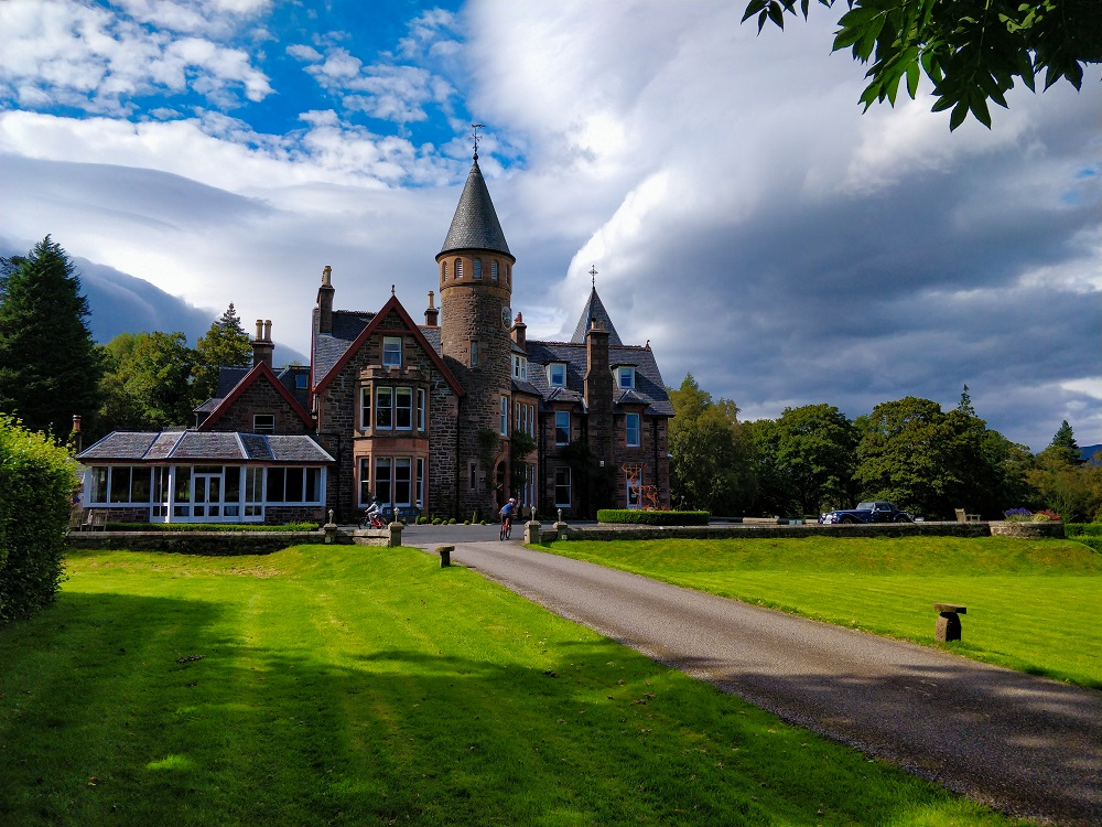 The Torridon Hotel Chateau Highlands familles