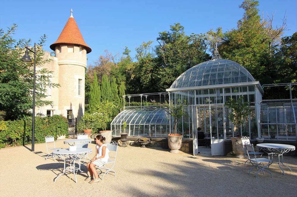Chateau les Carrasses hotel Kidsfriendly