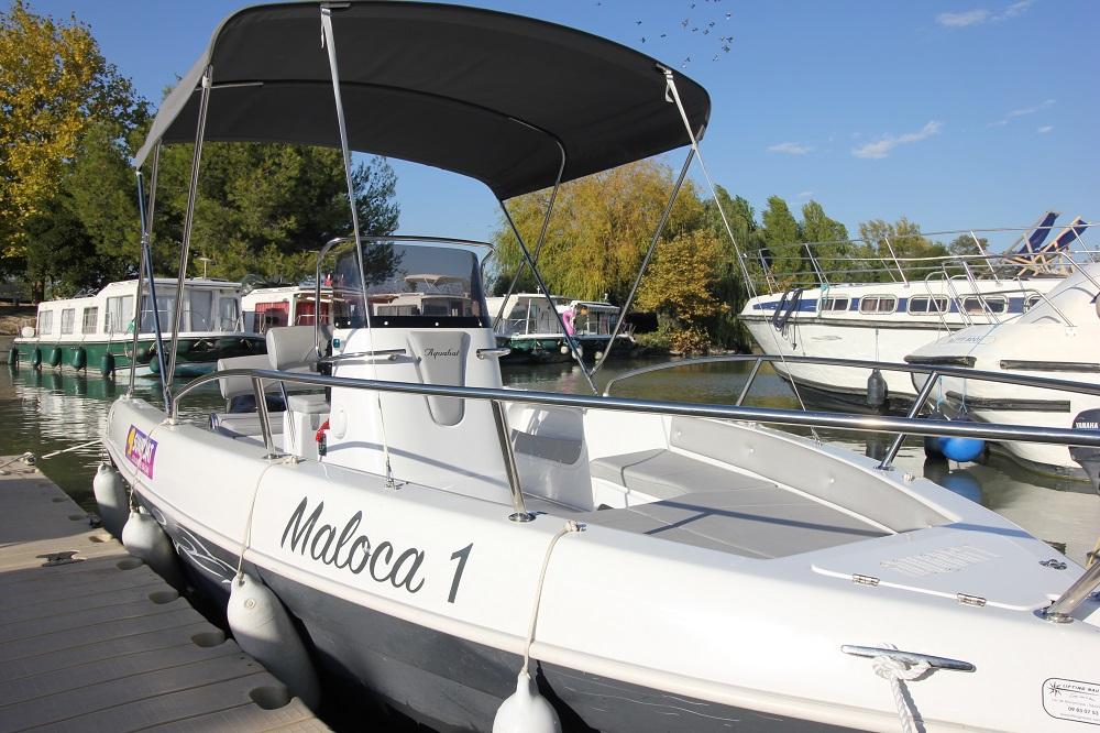 canal du midi sunboat sans permis