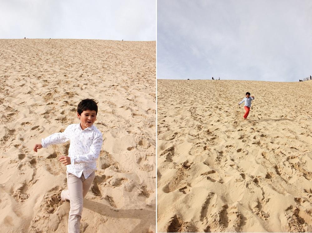Dune du Pilat en famille