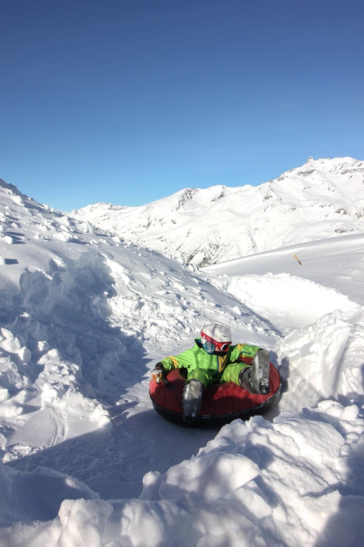 Luge bouées Val Cenis Solert