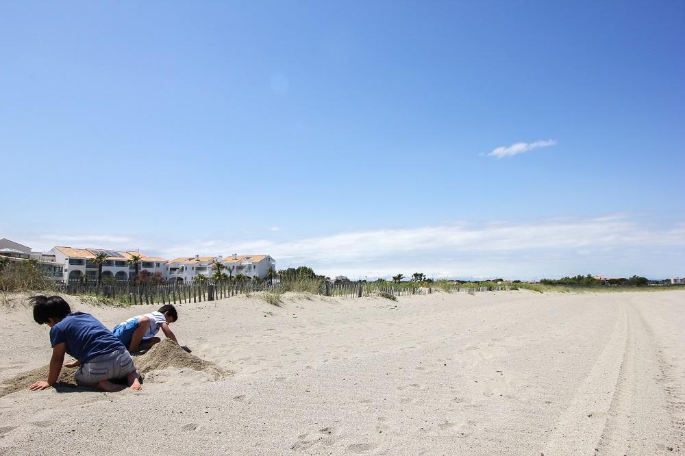 les bulles de mer hotel sur la plage saint cyprien