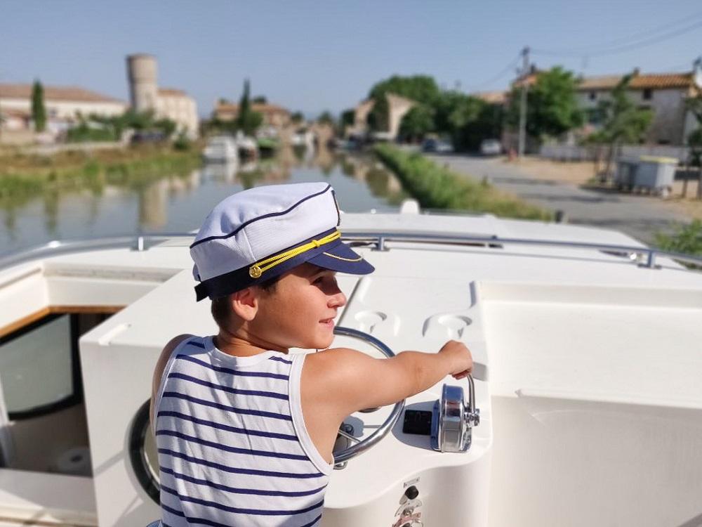 croisière canal du midi capitaine 1000