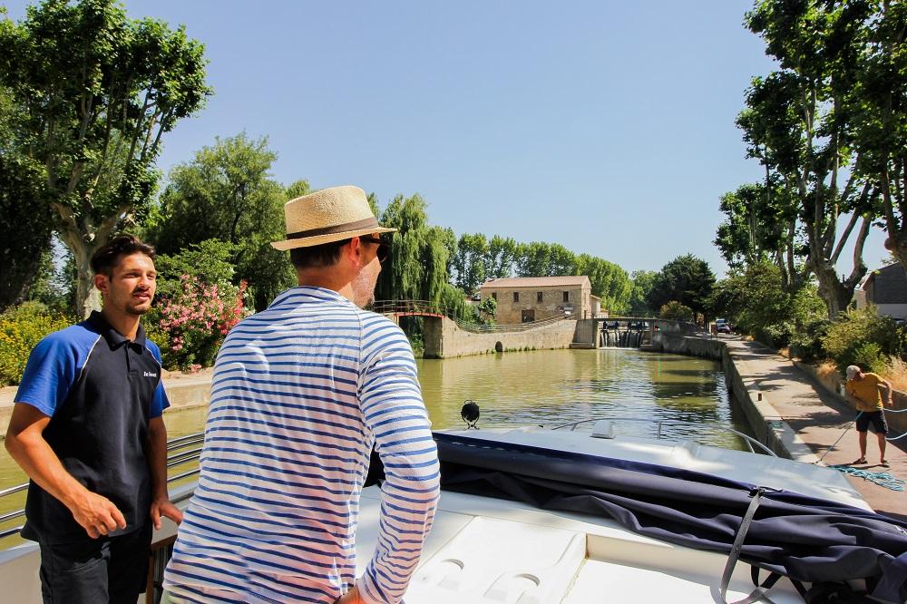 croisière fluviale canal du midi LeBoat 1000