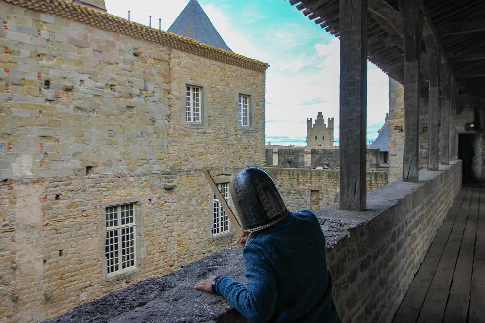 visite chateau de Carcassonne famille