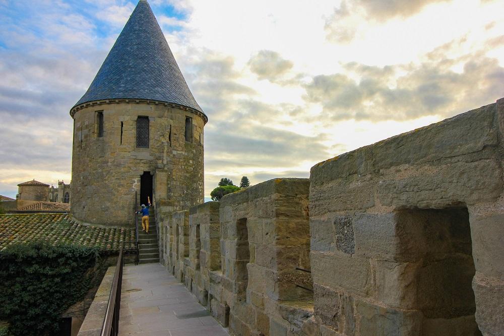 visite chateau de Carcassonne