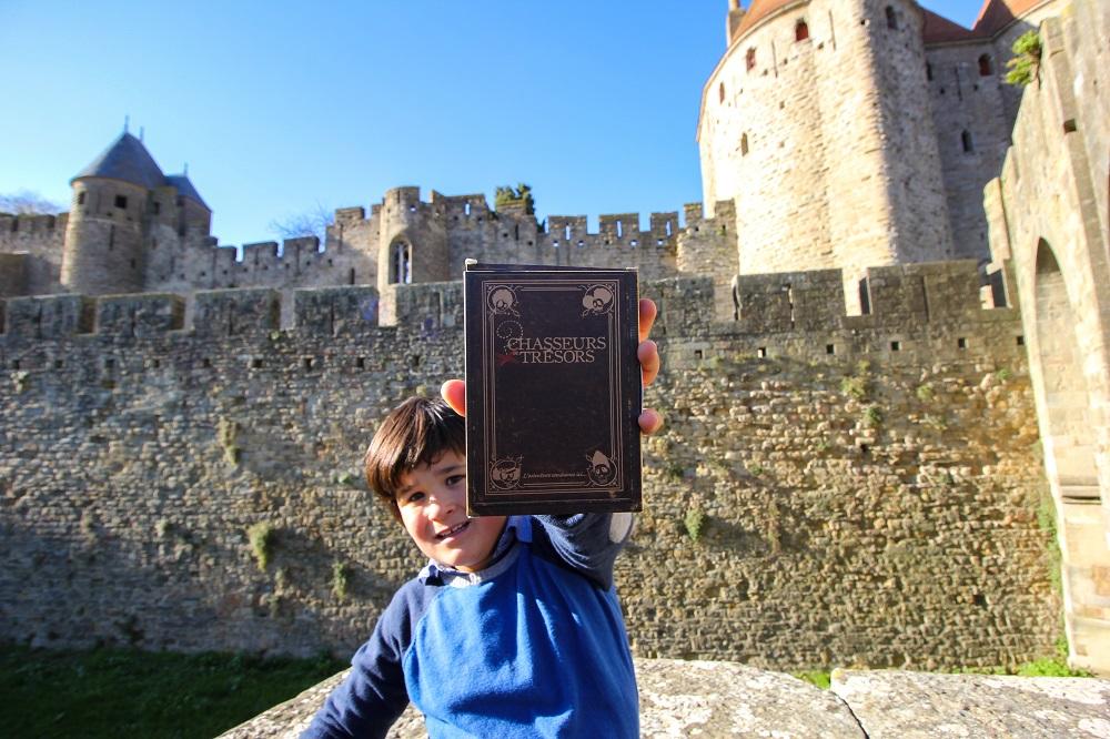 chasse au trésors enfants Carcassonne