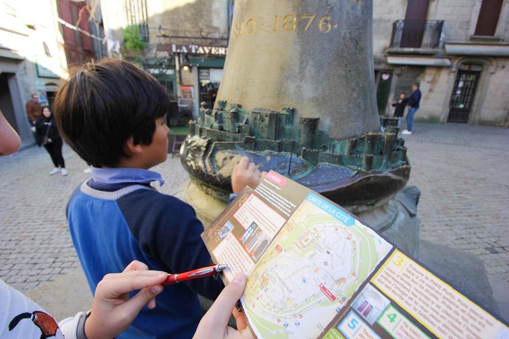 chasseurs de trésors Carcassonne